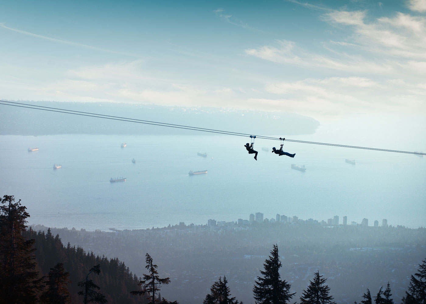 A Grouse Mountain Zipline is a Good Time, Anytime | Grouse Mountain - The Peak of Vancouver