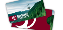 Grouse Mountain gift cards
