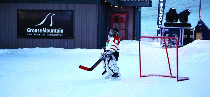 Junior Pond Hockey Tournament 2014 Grouse Mountain The Peak Of
