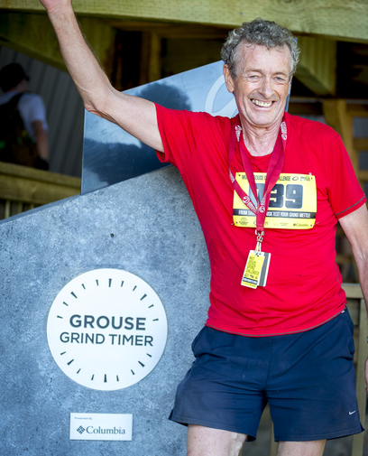 Idar Karlsen, the first Multi-Grouse Grind Challenge champion
