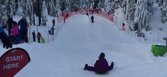 Our New Sliding Zone Provides Learning and Fun | Grouse Mountain - The Peak of Vancouver