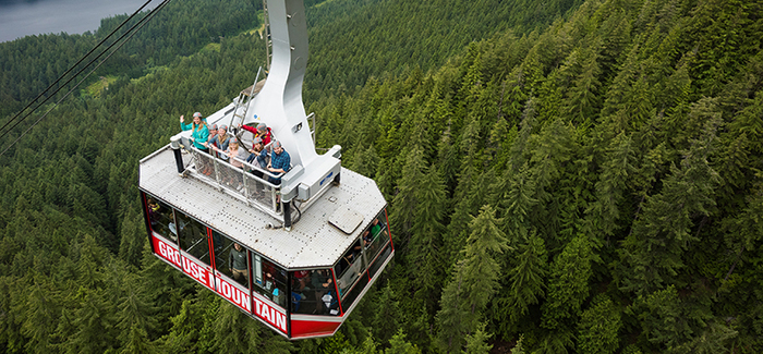 New Skyride Surf Adventure! | Grouse Mountain - The Peak of Vancouver