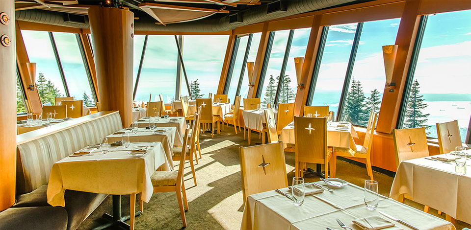 The Observatory venue at Grouse Mountain