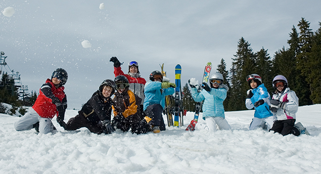 camps for kids ski and snowboard