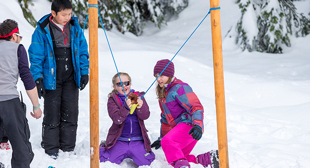 kids winter adventure day camps