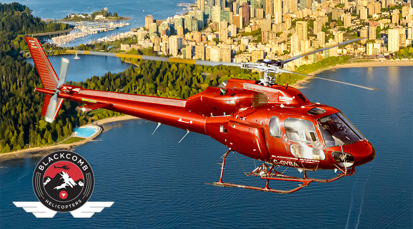 Blackcomb Helicopter tours at Grouse Mountain
