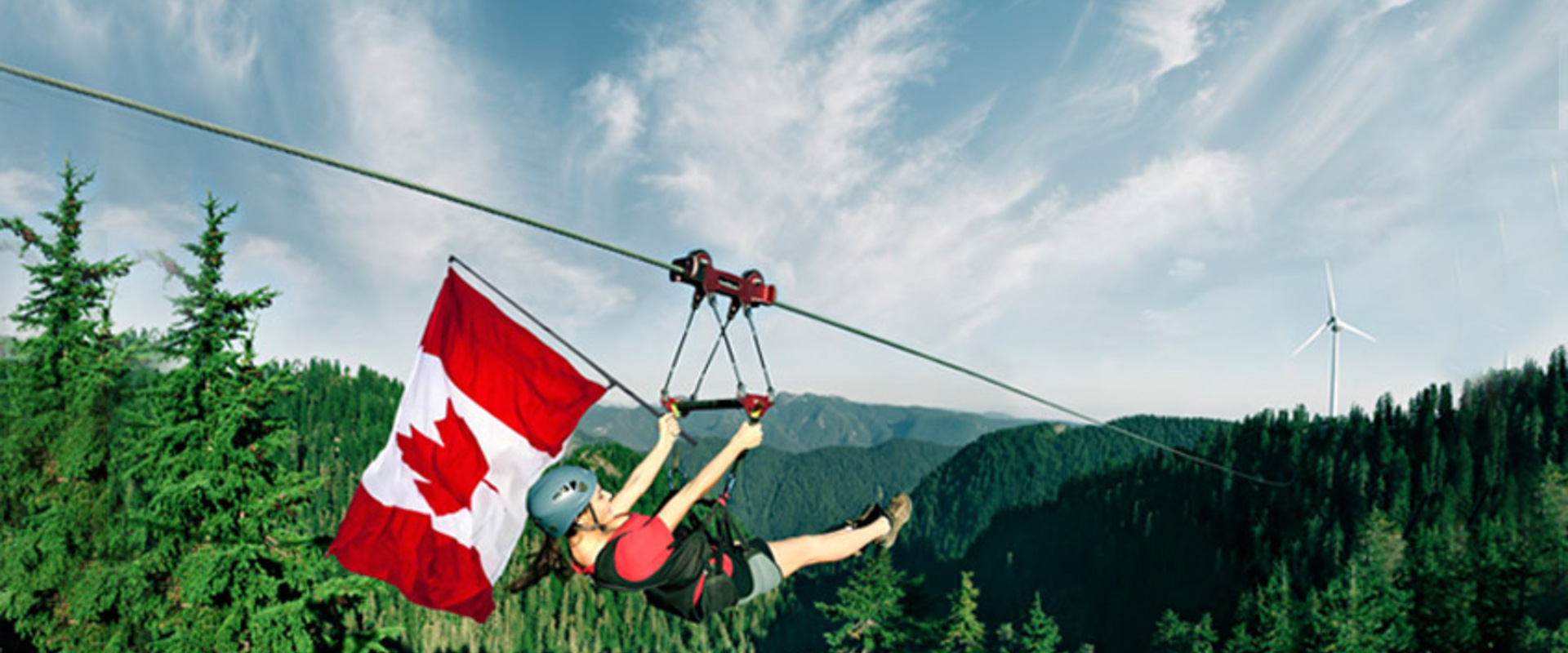 Celebrate Canada Day at Grouse Mountain