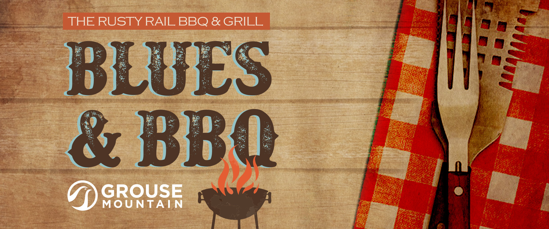 Join us at the Rusty Rail BBQ and Grill an evening of Blues and BBQ.