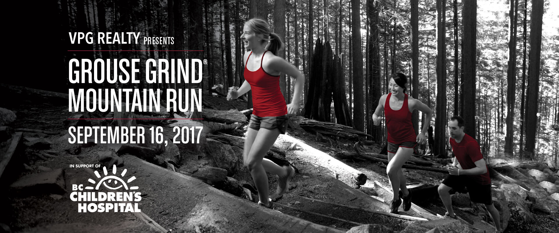 Join us September 16th for the Grouse Grind Mountain Run