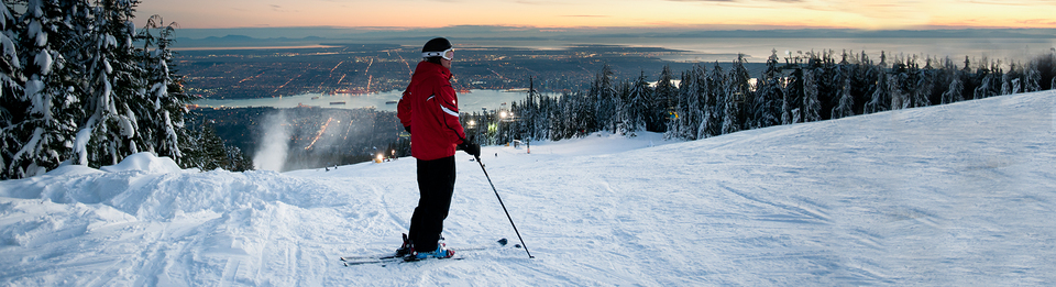 2017-18 Winter Program Guide at Grouse Mountain.