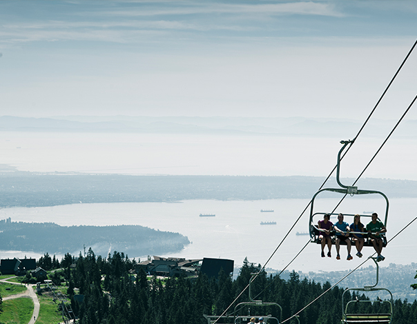 Get a better view from the Peak of Vancouver.