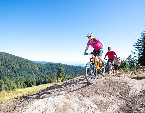 Hit the dirt with us this summer for some new Scenic Mountain Biking.