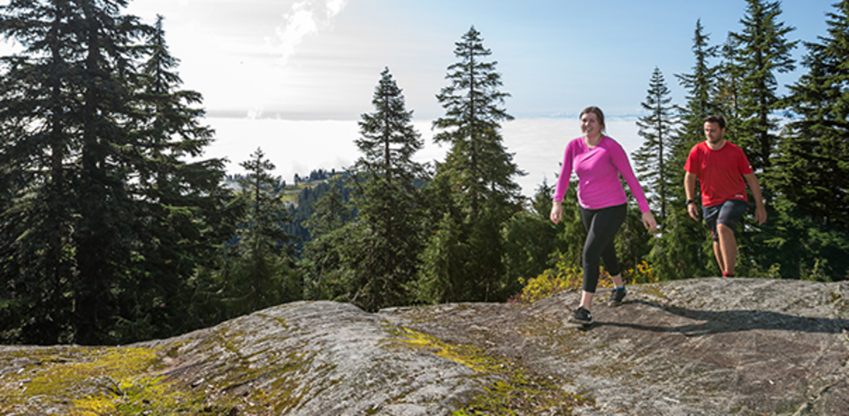 Learn about safe alpine hiking this summer in Grouse Mountain's Hiking Clinics.