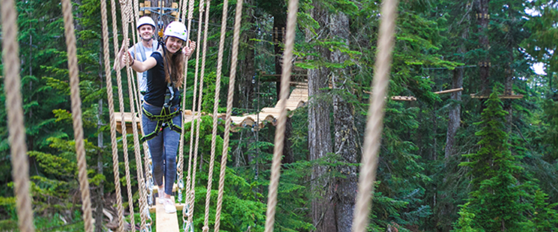 Aerial ropes course opening at Grouse Mountain