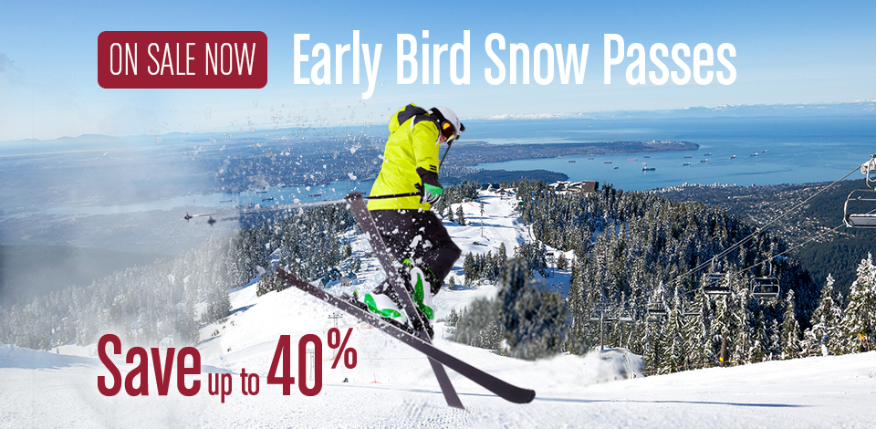 Save up to 40% with an Early Bird Snow Pass