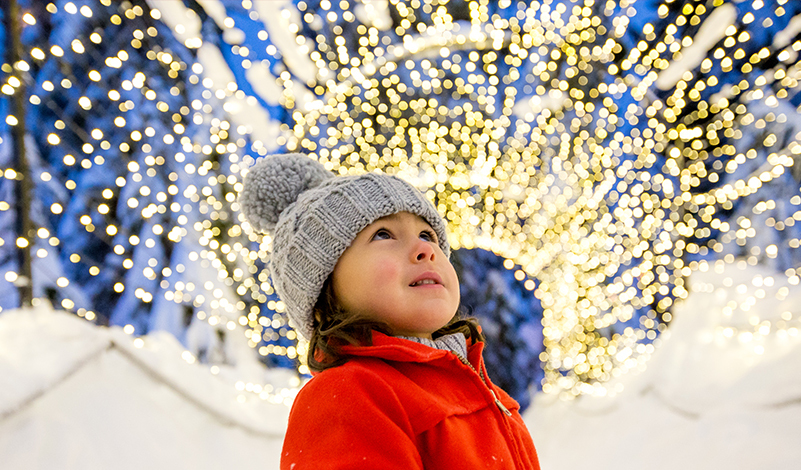Come visit Grouse Mountain's magical Light Walk this holiday season.