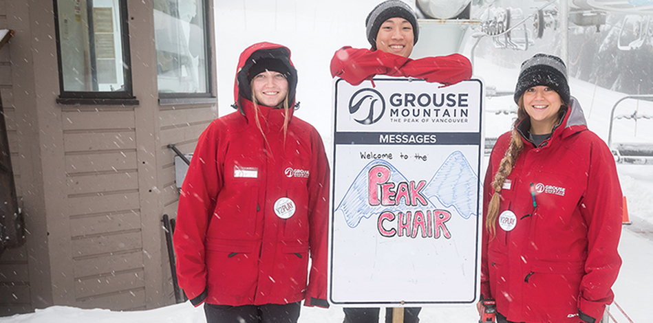 Grouse Mountain is hiring, come work with us!