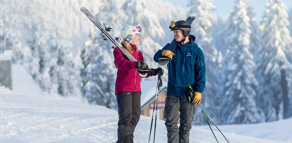 Get all the gear you need for winter fun at Grouse Mountain