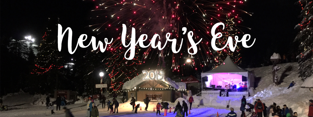 New Year's Eve at Grouse Mountain