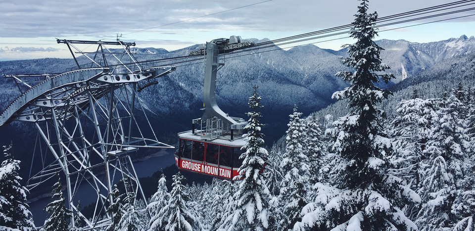 Grouse Mountain's Super Skyride