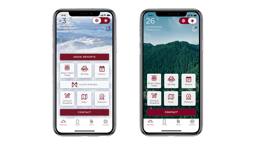 App for iPhone | Grouse Mountain - The Peak of Vancouver