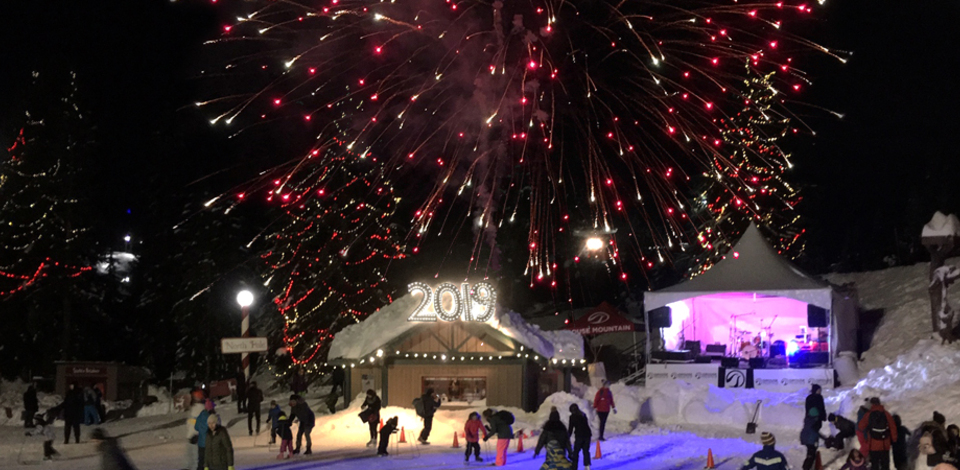 Celebrate New Year's Eve at Grouse Mountain