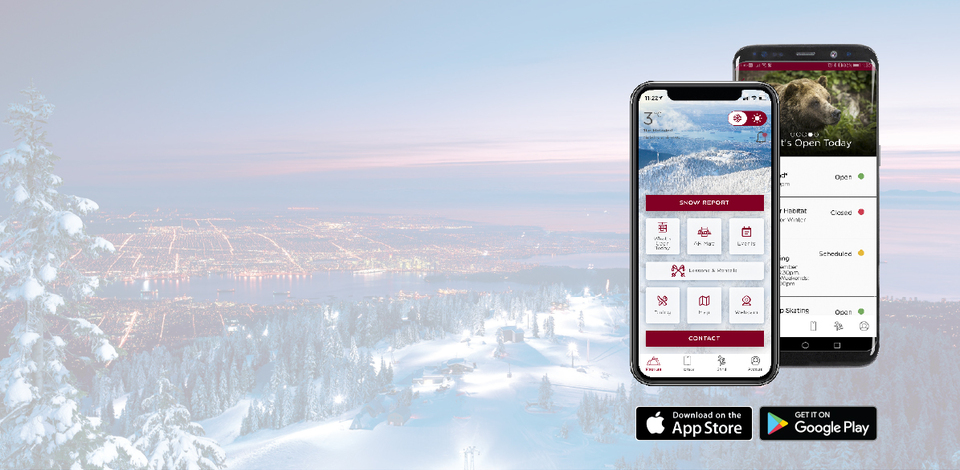 Download the new Grouse Mountain app for you chance to win