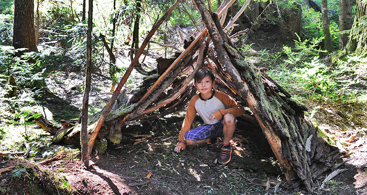 This summer send your kids to Survival Camp