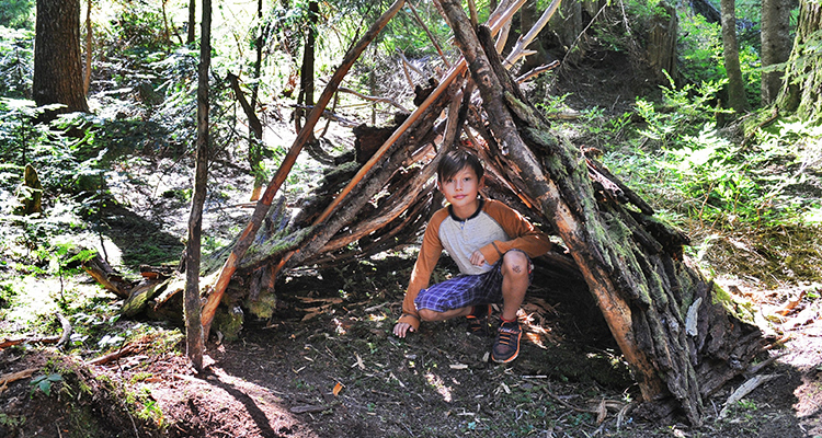 Keep your kid's busy and playing this summer at Survival Camp