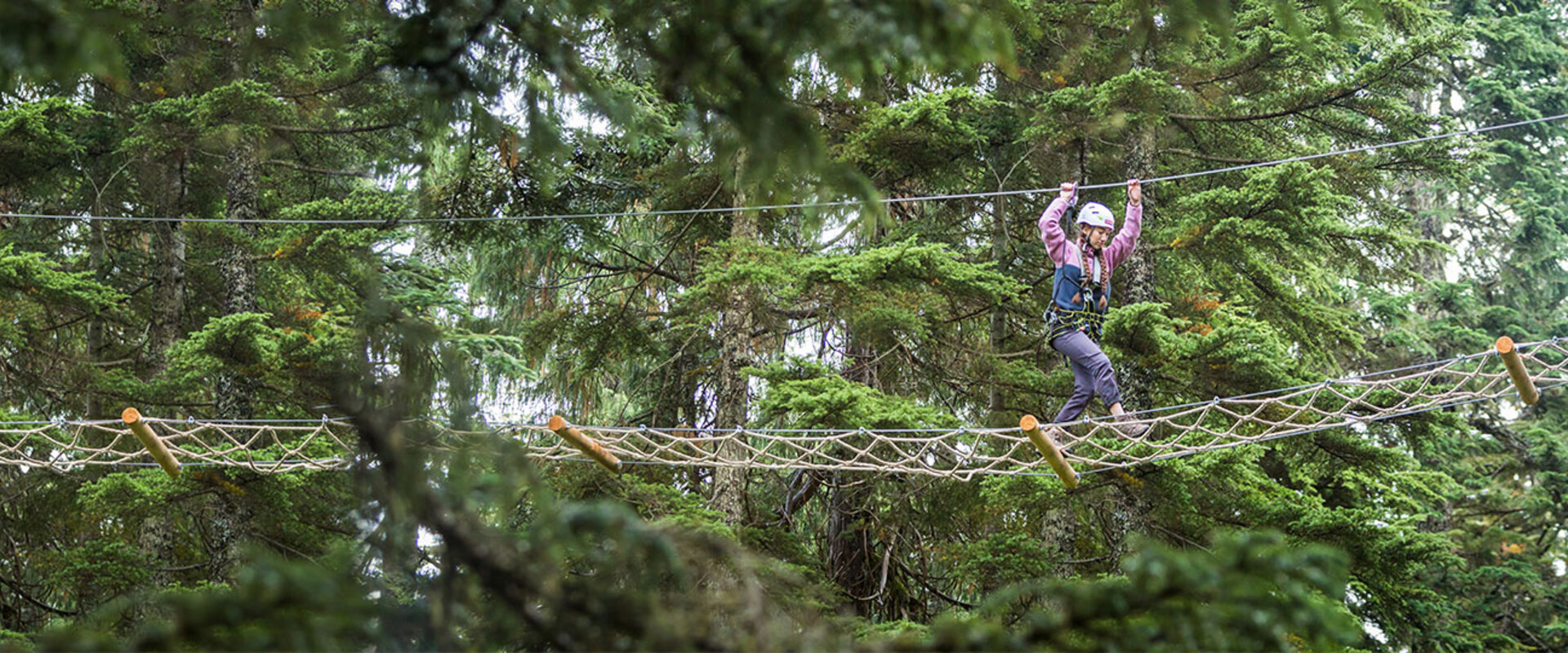 Discover Grouse Mountain from new height this summer with Mountain Ropes Adventure
