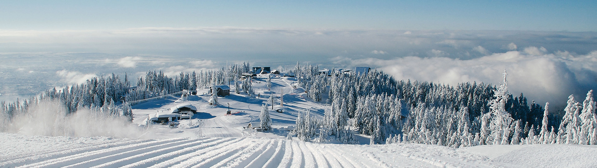 View from Peak in winter