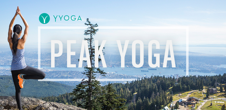 Peak Yoga at Grouse Mountain