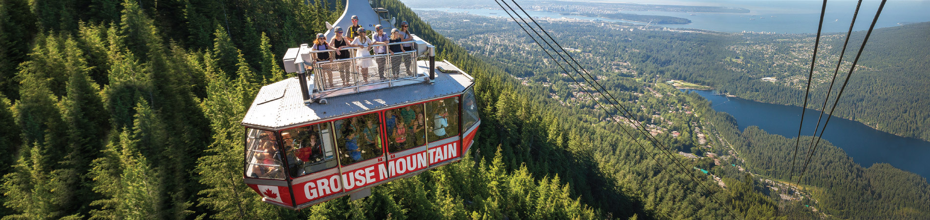 Skyride Surf Adventure at Grouse Mountain