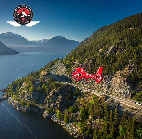 Crown Mountain heli-tour