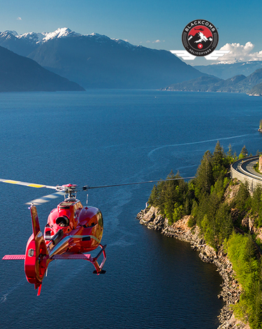 Coastal Scenic helicopter tour
