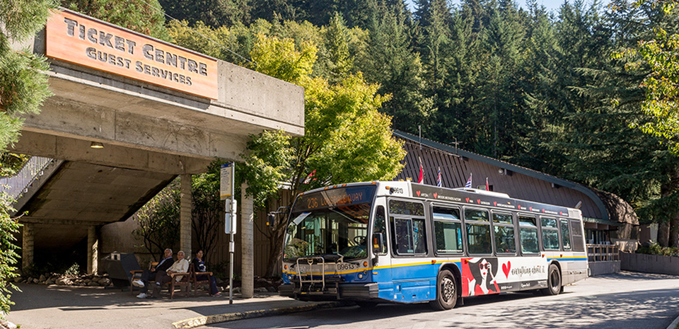 Public transit to Grouse Mountain is easy