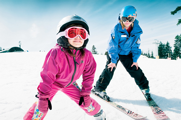 Ski lessons for tots and kids
