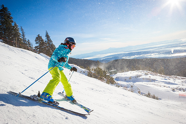 Ski and snowboard lessons for kids