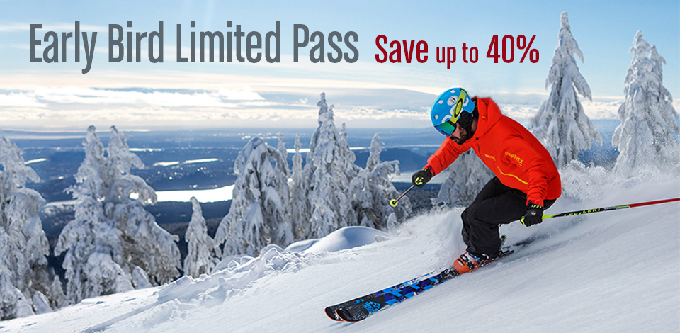 Early Bird Unlimited Passes provided up to 40% savings